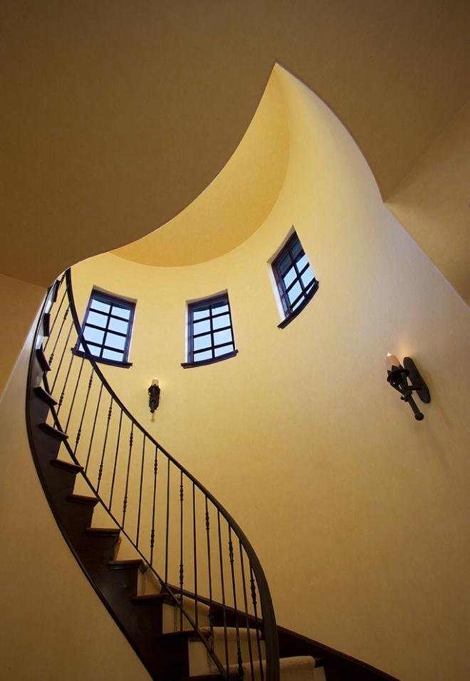 Mount Horeb Residence Circular Stair
