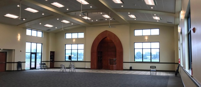 ISWEM Prayer Hall Interior